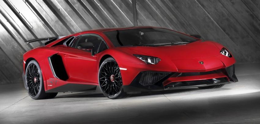 Lamborghini Aventador LP750-4 Superveloce debuts Image #315582
