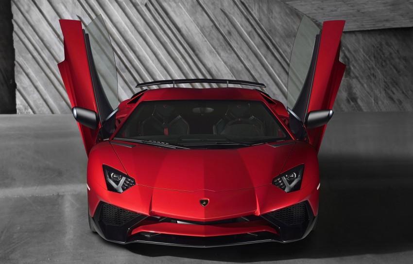Lamborghini Aventador LP750-4 Superveloce debuts Image #315592