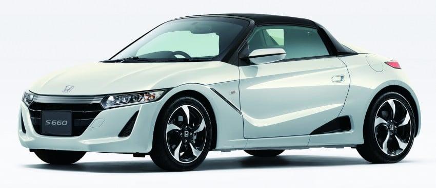 Honda S660 <em>kei</em>-roadster on sale in Japan, from RM62k Image #322551