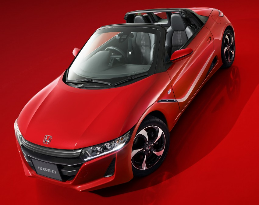 Honda S660 <em>kei</em>-roadster on sale in Japan, from RM62k Image #322547