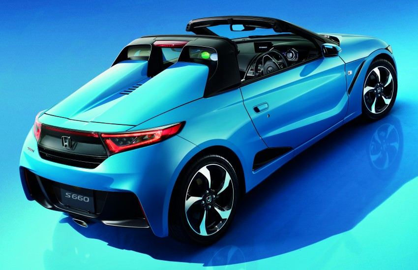 Honda S660 <em>kei</em>-roadster on sale in Japan, from RM62k Image #322548