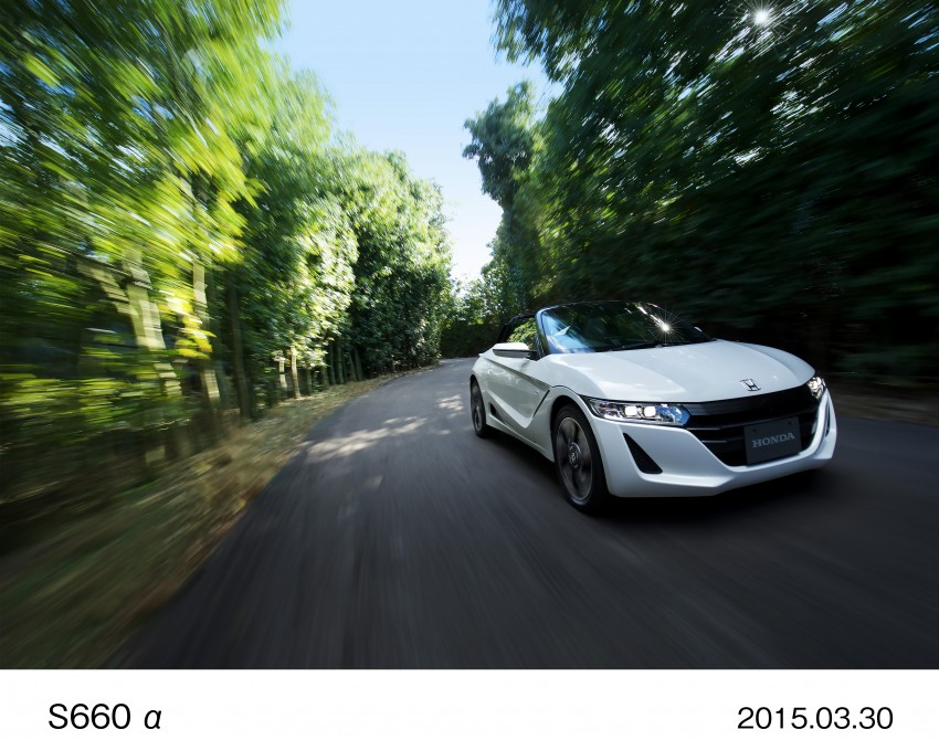 Honda S660 <em>kei</em>-roadster on sale in Japan, from RM62k Image #322536