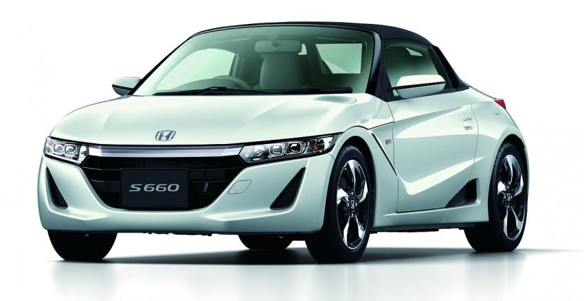 Honda S660 <em>kei</em>-roadster on sale in Japan, from RM62k Image #322538