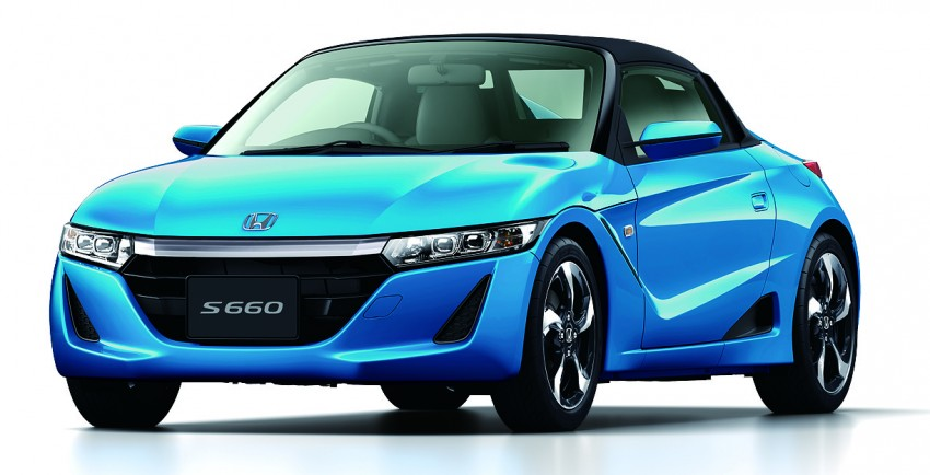 Honda S660 <em>kei</em>-roadster on sale in Japan, from RM62k Image #322541