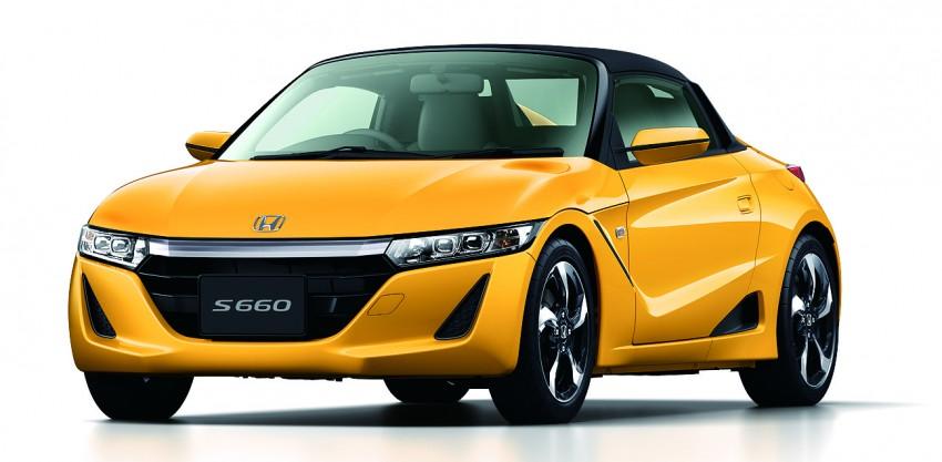 Honda S660 <em>kei</em>-roadster on sale in Japan, from RM62k Image #322542
