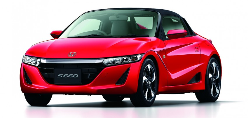 Honda S660 <em>kei</em>-roadster on sale in Japan, from RM62k Image #322543