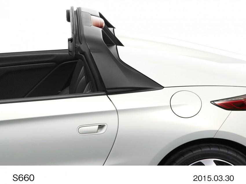 Honda S660 <em>kei</em>-roadster on sale in Japan, from RM62k Image #322511