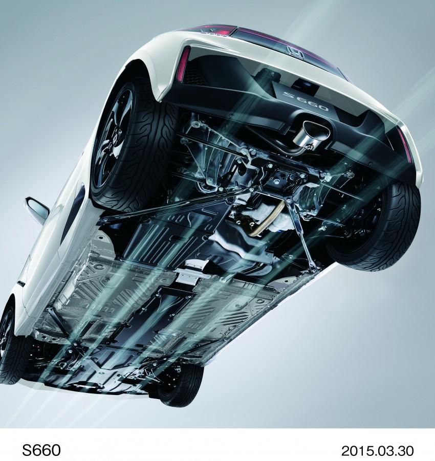 Honda S660 <em>kei</em>-roadster on sale in Japan, from RM62k Image #322501