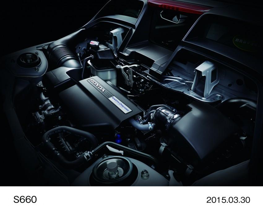 Honda S660 <em>kei</em>-roadster on sale in Japan, from RM62k Image #322502