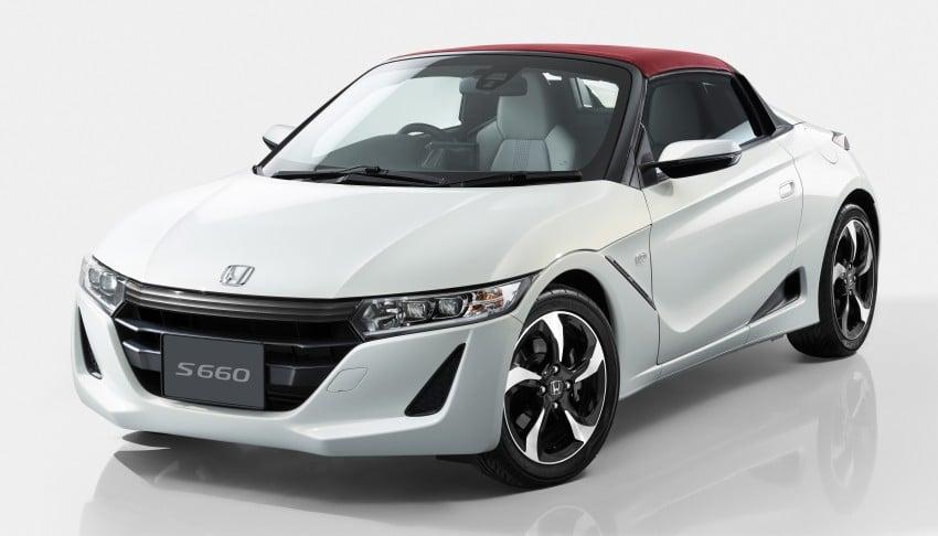 Honda S660 <em>kei</em>-roadster on sale in Japan, from RM62k Image #322450