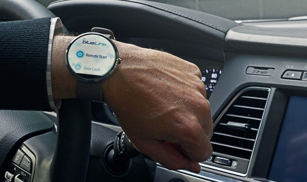 Hyundai launches new Blue Link remote app for Android Wear