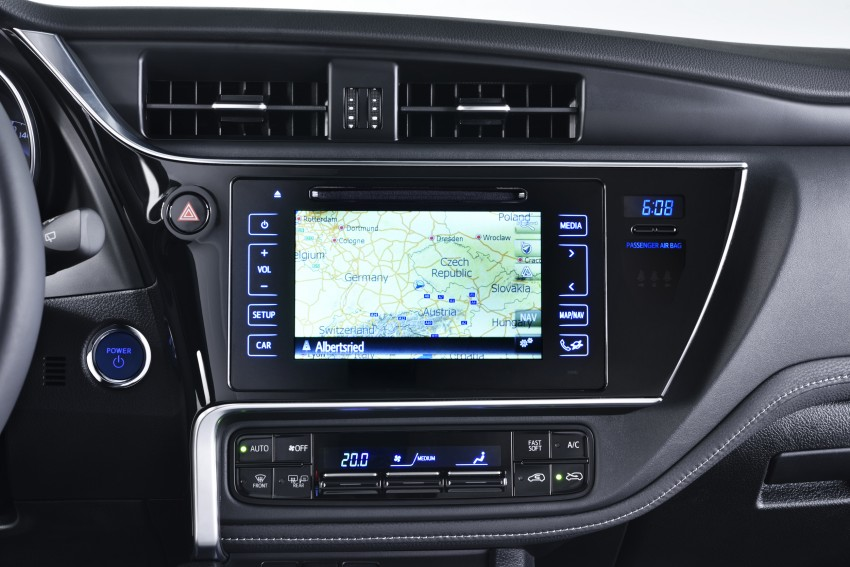 Toyota Auris facelift gets new 1.2 litre turbo engine Image #315777