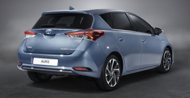Toyota Auris Facelift Gets New 1 2 Litre Turbo Engine