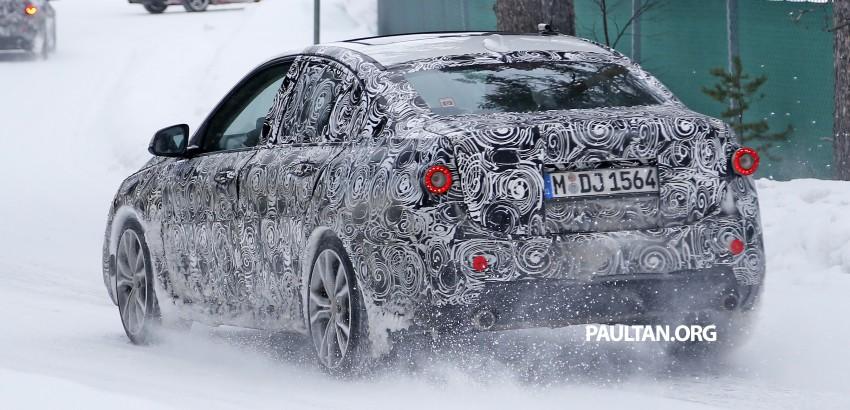 SPIED: F52 BMW 1 Series Sedan testing in the snow Image #316189
