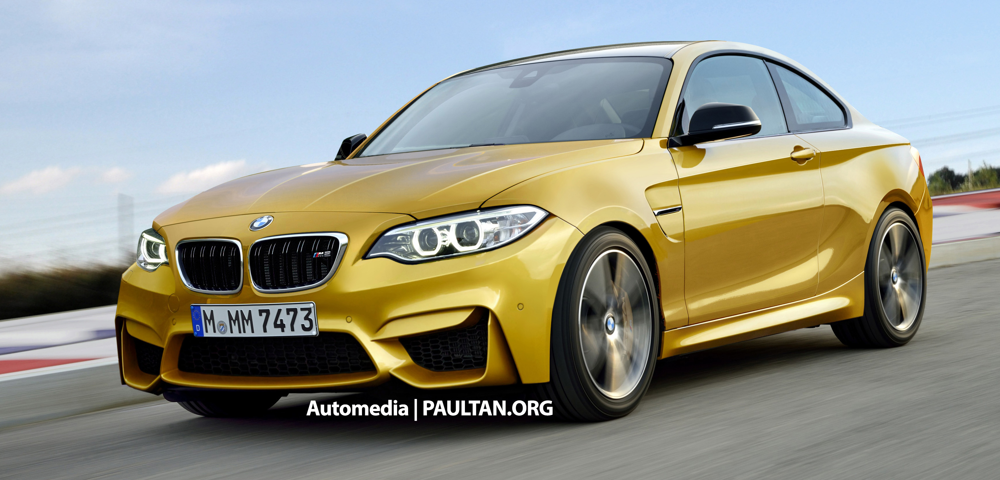 spyshots f87 bmw m2 spotted with less camo. Black Bedroom Furniture Sets. Home Design Ideas