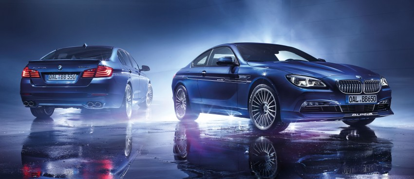 Alpina B5 and B6 Edition 50 limited run celebrates half a century of tuned BMWs with factory warranty Image #321825