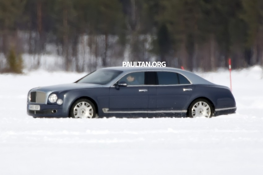 SPIED: Bentley Mulsanne to get long-wheelbase body? Image #321246