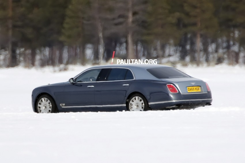 SPIED: Bentley Mulsanne to get long-wheelbase body? Image #321243