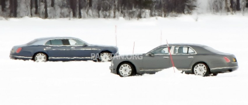 SPIED: Bentley Mulsanne to get long-wheelbase body? Image #321242