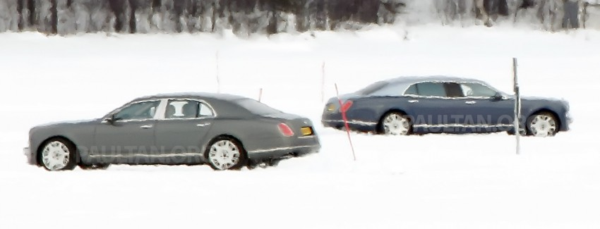 SPIED: Bentley Mulsanne to get long-wheelbase body? Image #321241
