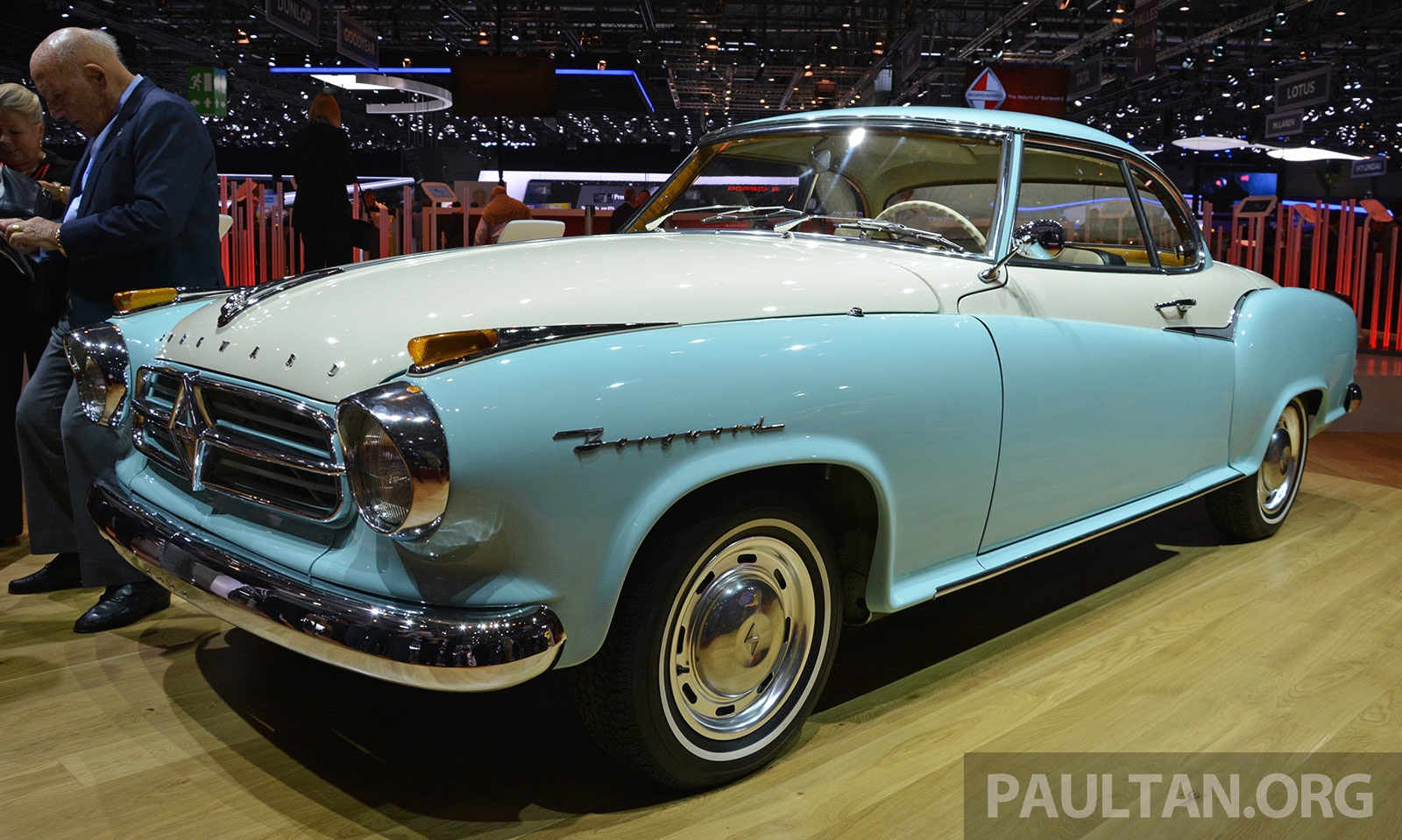 Borgward relaunched at...