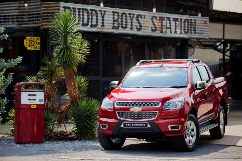 Chevrolet Colorado High Country launched in Thailand