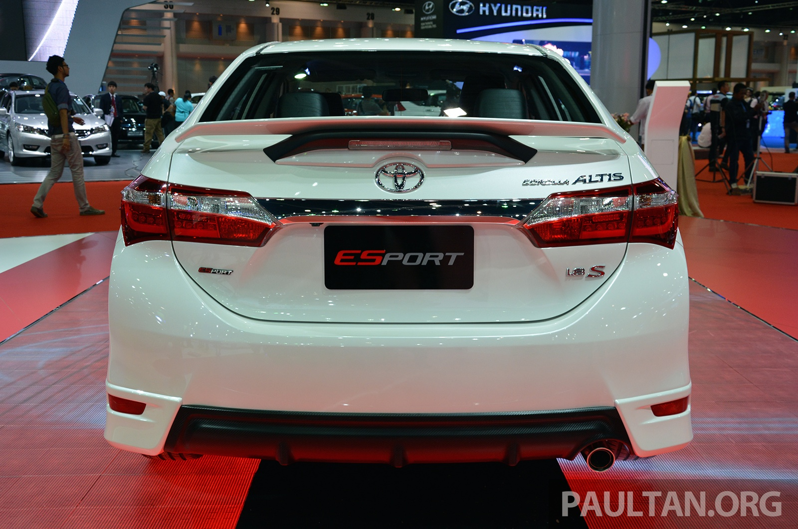 Toyota Corolla 2015 >> GALLERY: Toyota Corolla Altis ESport Nurburgring Edition at Bangkok 2015 – celebrates 7th place ...