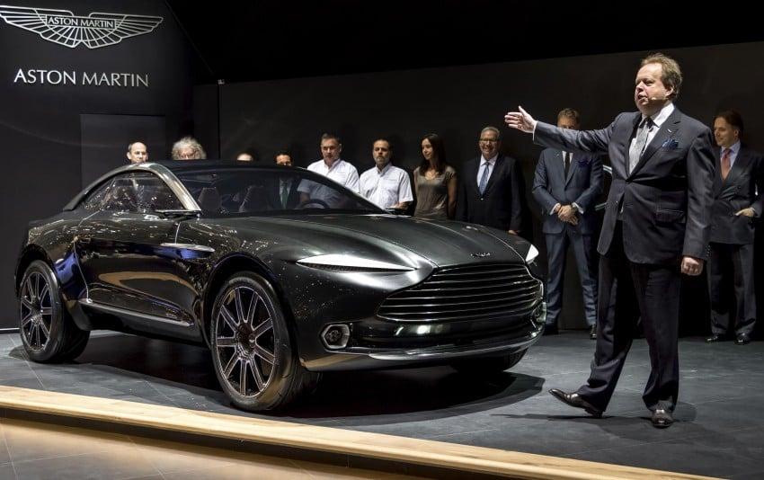 Aston Martin DBX Concept; AWD, electric Bond car? Image #315903