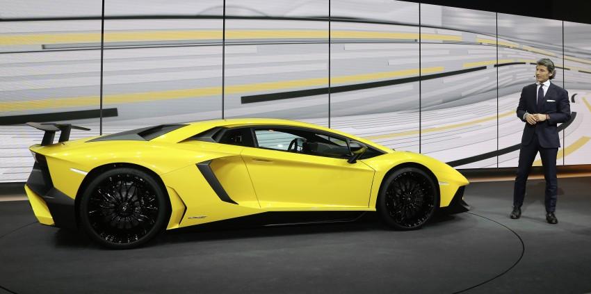 Lamborghini Aventador LP750-4 Superveloce debuts Image #315575
