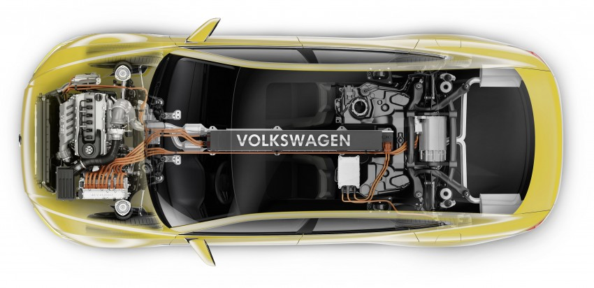 Volkswagen Sport Coupe Concept GTE revealed in Geneva – plug-in hybrid concept previews next-gen CC Image #315368