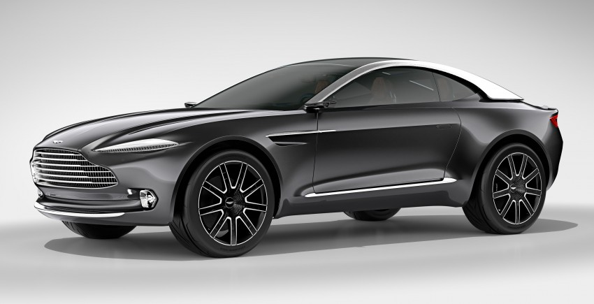 Aston Martin DBX Concept; AWD, electric Bond car? Image #315915
