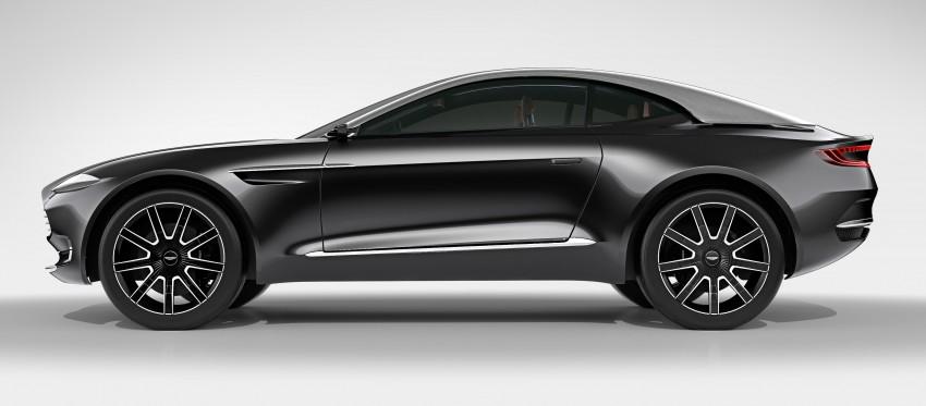 Aston Martin DBX Concept; AWD, electric Bond car? Image #315913