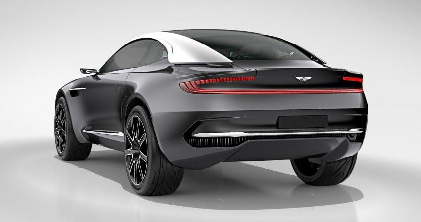 Aston Martin DBX Concept; AWD, electric Bond car? Image #315911