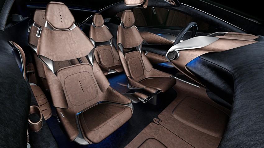 Aston Martin DBX Concept; AWD, electric Bond car? Image #315907