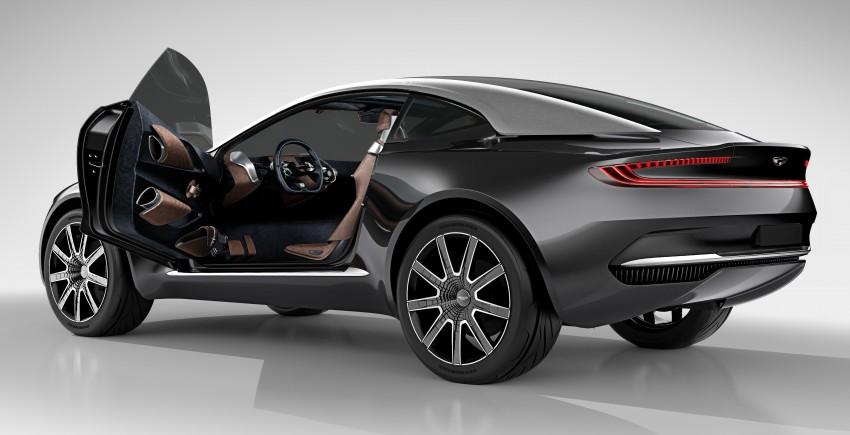 Aston Martin DBX Concept; AWD, electric Bond car? Image #315905