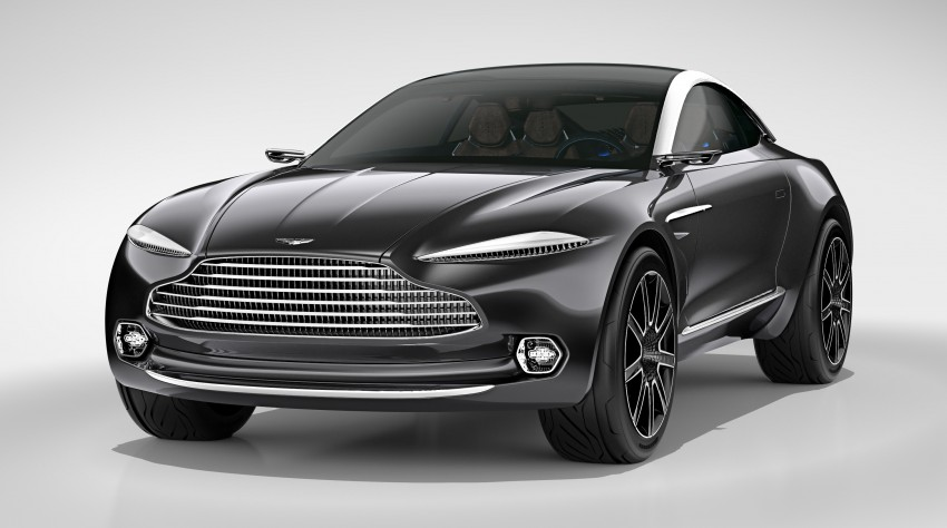 Aston Martin DBX Concept; AWD, electric Bond car? Image #315904
