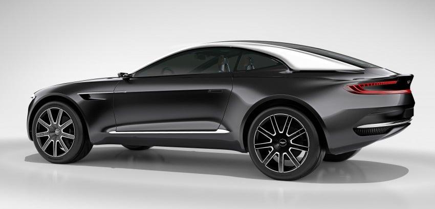 Aston Martin DBX Concept; AWD, electric Bond car? Image #315914