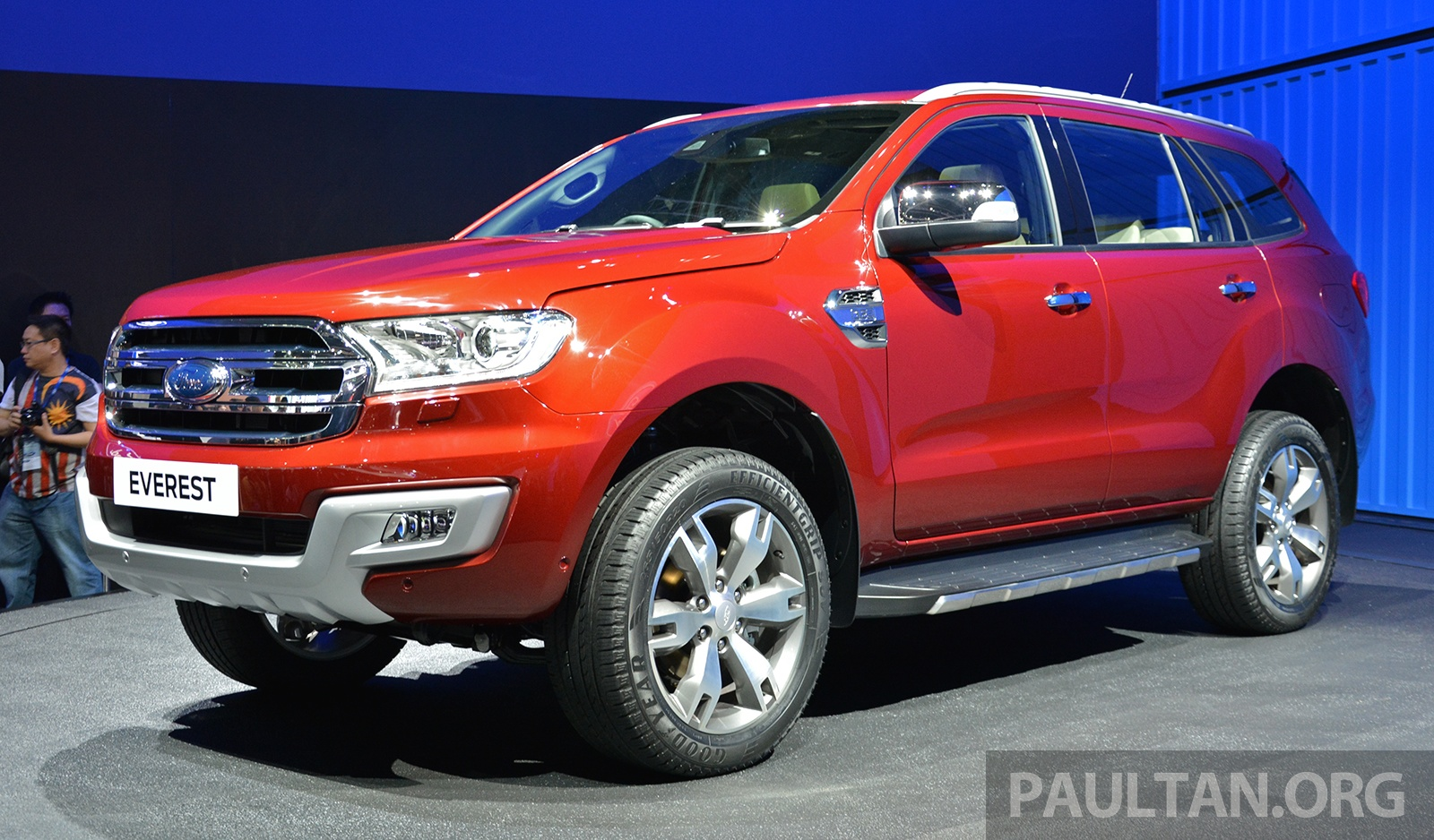 Creative 2015 Ford Everest Makes ASEAN Debut From RM143k