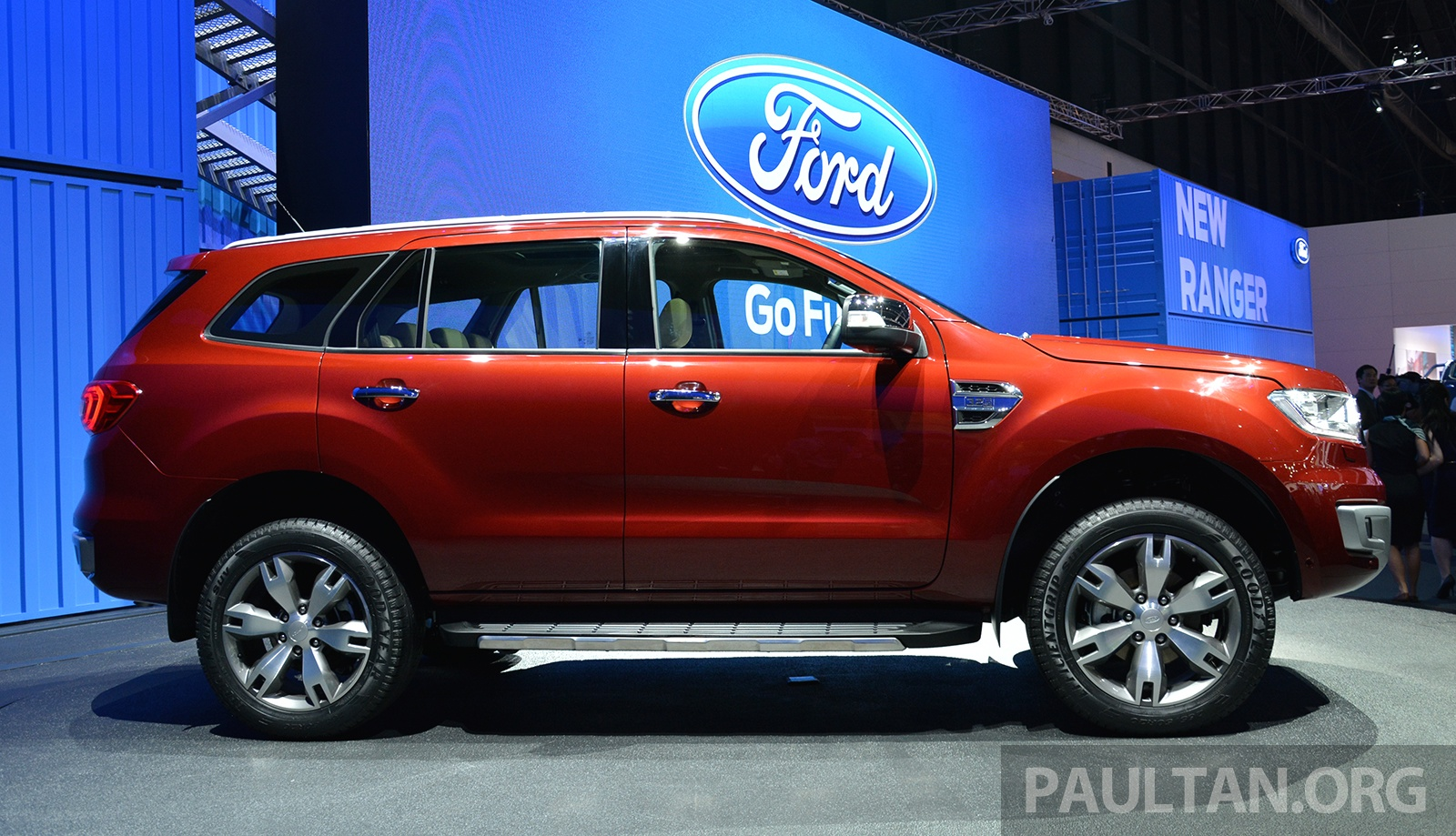 Ford Everest 2018 >> 2015 Ford Everest makes ASEAN debut – arrives in Malaysia Q3 2015, Thai prices start from RM143k ...