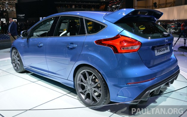 Ford Focus RS Geneva Live 13