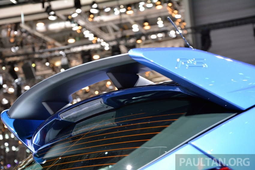 GALLERY: Ford Focus RS world premiere at Geneva Image #316514