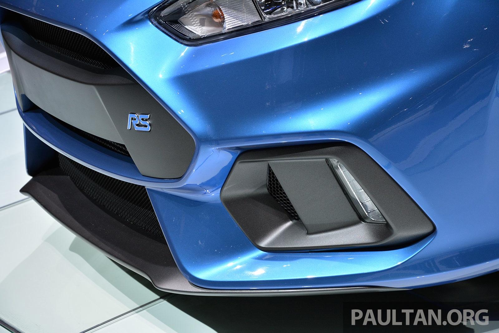 2015 Focus Rs >> GALLERY: Ford Focus RS world premiere at Geneva Paul Tan - Image 316515