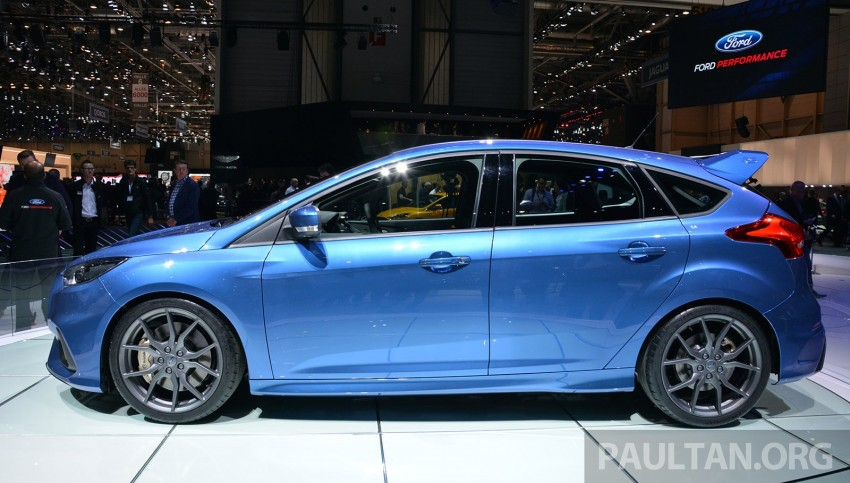 GALLERY: Ford Focus RS world premiere at Geneva Image #316516