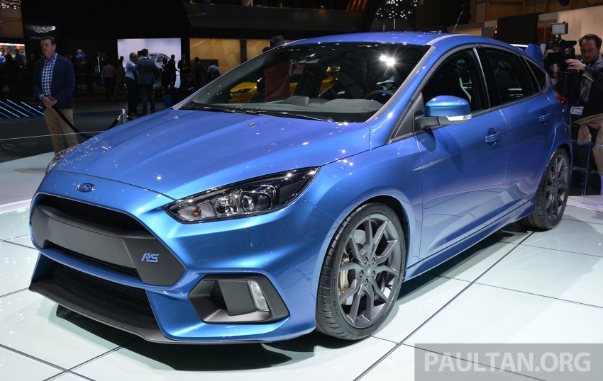 GALLERY: Ford Focus RS world premiere at Geneva Image #316517