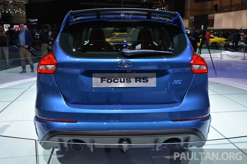 GALLERY: Ford Focus RS world premiere at Geneva Image #316501