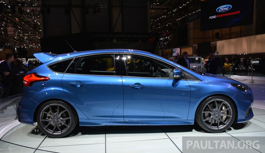 GALLERY: Ford Focus RS world premiere at Geneva Image #316505