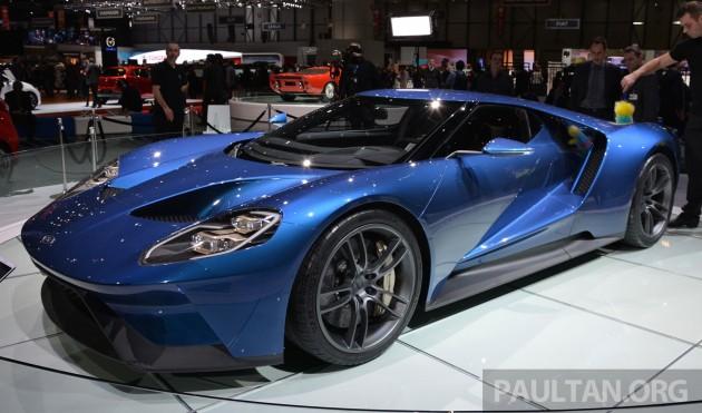 Ford GT Geneva Live 1