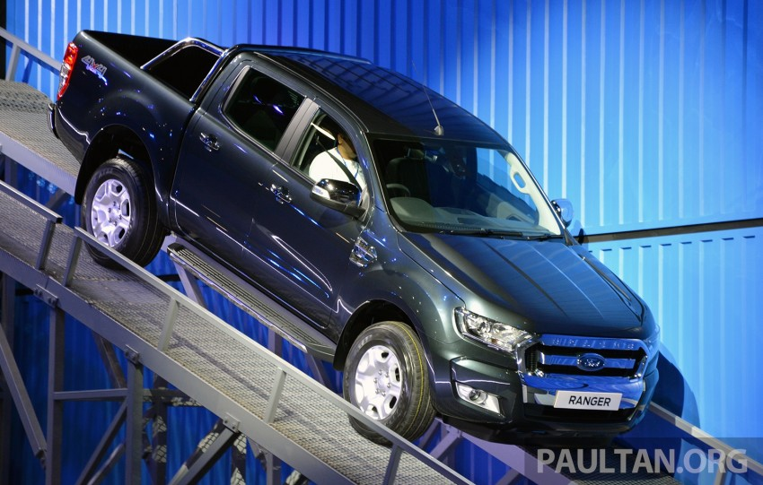 2015 Ford Ranger makes world debut in Thailand Image #320422