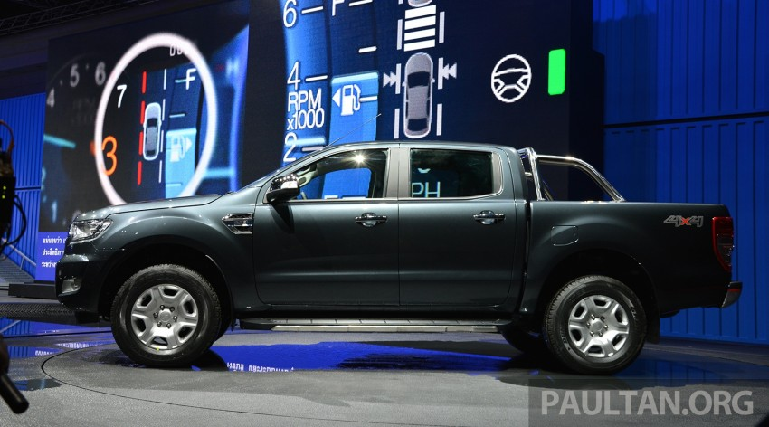 2015 Ford Ranger makes world debut in Thailand Image #320434