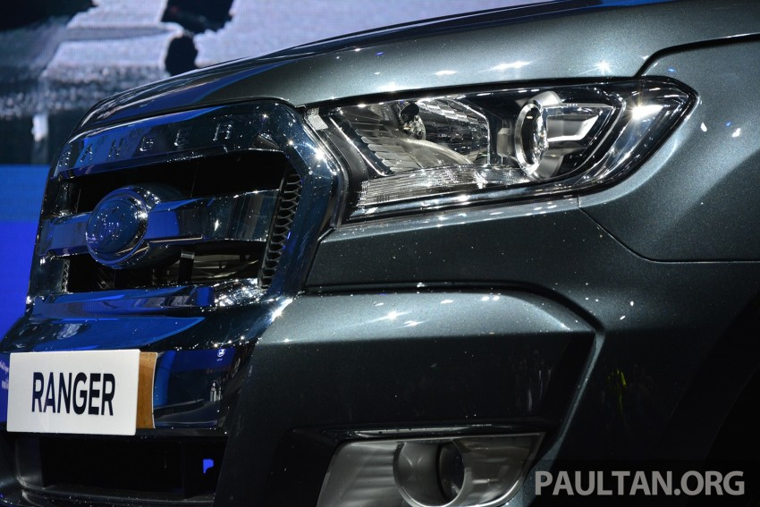 2015 Ford Ranger makes world debut in Thailand Image #320435